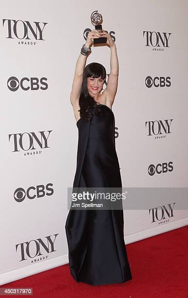 Actress Lena Hall winner for best performance by an actress in a featured role in a musical attends American Theatre Wing's 68th Annual Tony Awards...