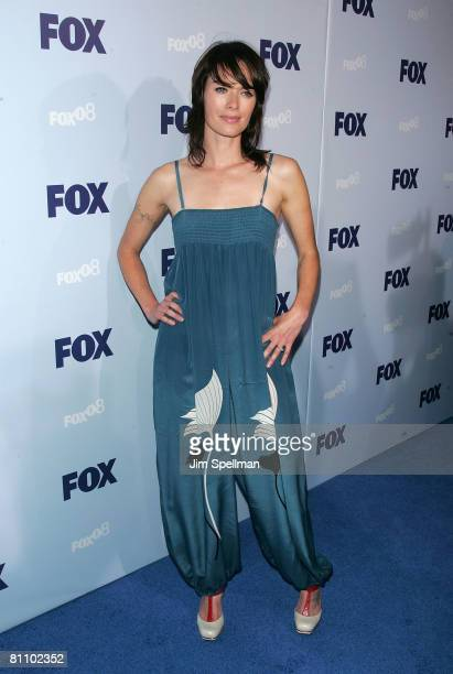 Actress Lena Headey arrives at the 2008 FOX UpFront at Wollman Rink in Central Park on May 15 2008 in New York City