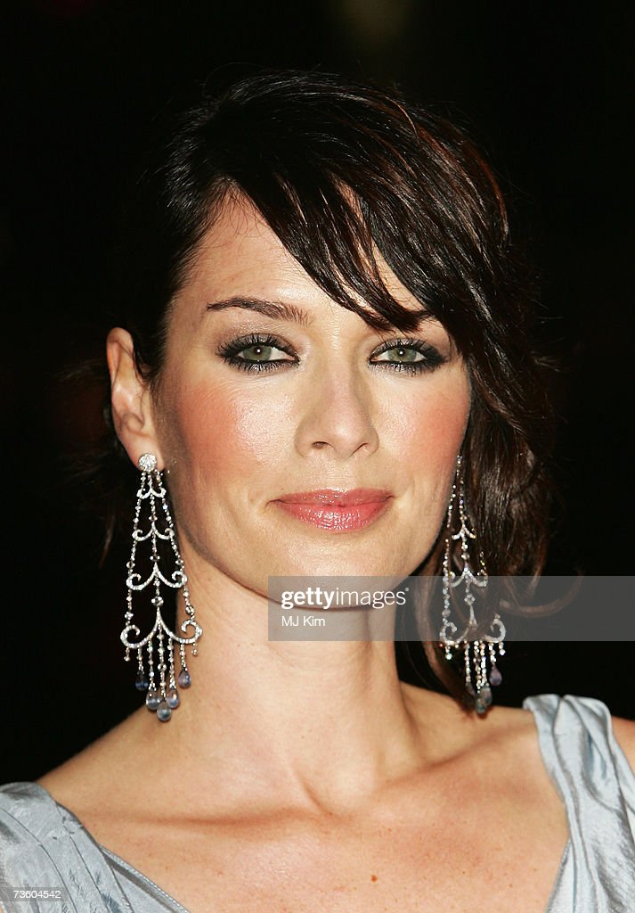 Actress Lena Headey arrives at the UK Premiere of '300' at Vue West End, Leicester Square on March 15, 2007 in London, England. Based on the work of graphic novelist Frank Miller, creator of ?Sin City?, '300' relates to the 480 B.C. Battle of Thermopylae.