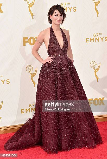 Actress Lena Headey attends the 67th Emmy Awards at Microsoft Theater on September 20 2015 in Los Angeles California 25720_001