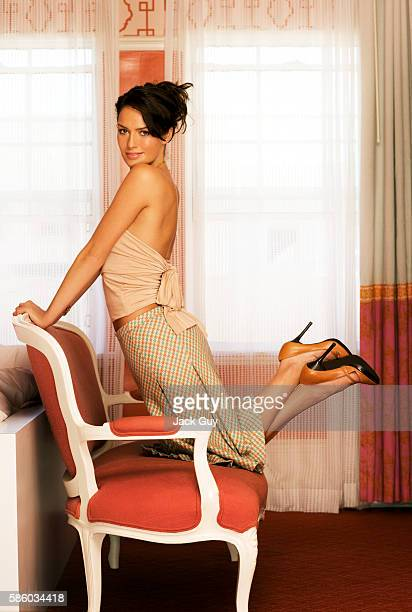 Actress Lena Headey is photographed in 2005 in Los Angeles California