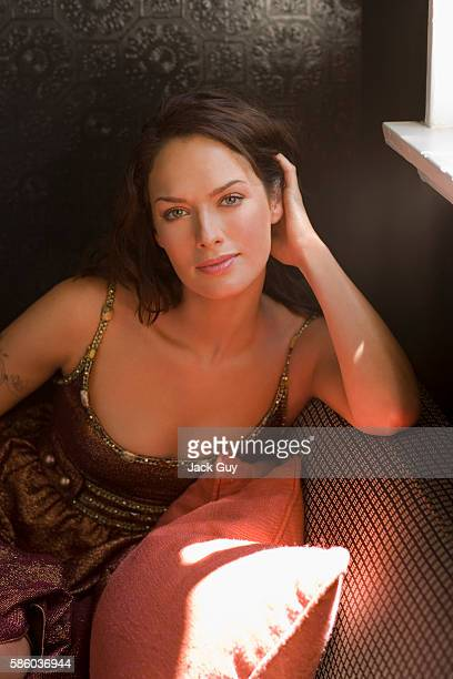 Actress Lena Headey is photographed in 2005 in Los Angeles California PUBLISHED IMAGE
