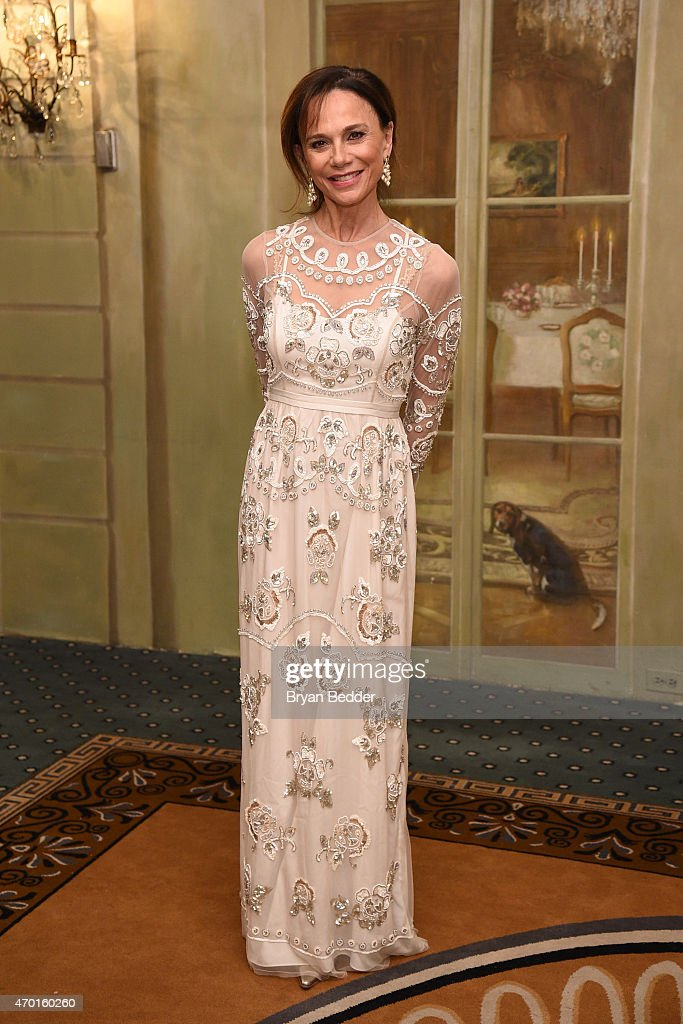 Actress Lena Olin attends the American-Scandinavian Foundation Gala Dinner at The Pierre Hotel on April 17, 2015 in New York City.