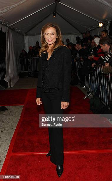 Actress Lena Olin attends the premiere of Awake at Chelsea West Cinema on November 14 2007 in New York City