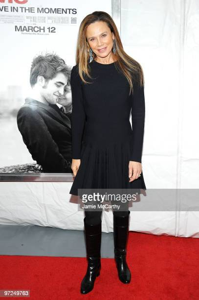 Actress Lena Olin attends the premiere of Remember Me at the Paris Theatre on March 1 2010 in New York City