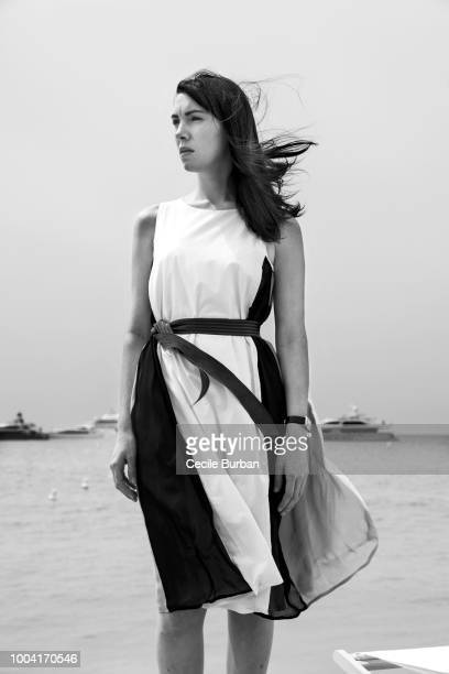Actress Lena Paugam is photographed for Self Assignment on May 2015 in Cannes France