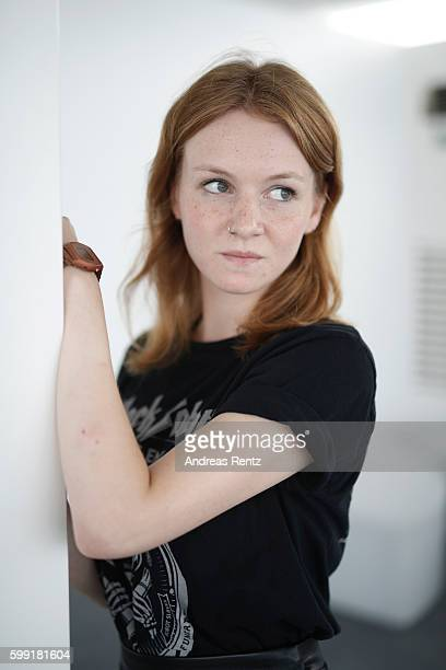Actress Lena Suijkerbuijk of film 'Home' poses for portrait during the 73rd Venice Film Festival on September 4 2016 in Venice Italy