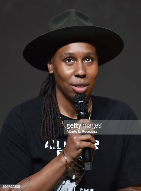 Actress Lena Waithe attend the panel discussion for Netflix's Master of None For Your Consideration Event at the Saban Media Center on June 5 2017 in...