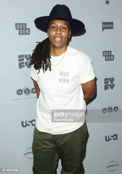 Actress Lena Waithe attends NBCUniversal's press junket at Beauty Essex on November 13 2017 in Los Angeles California