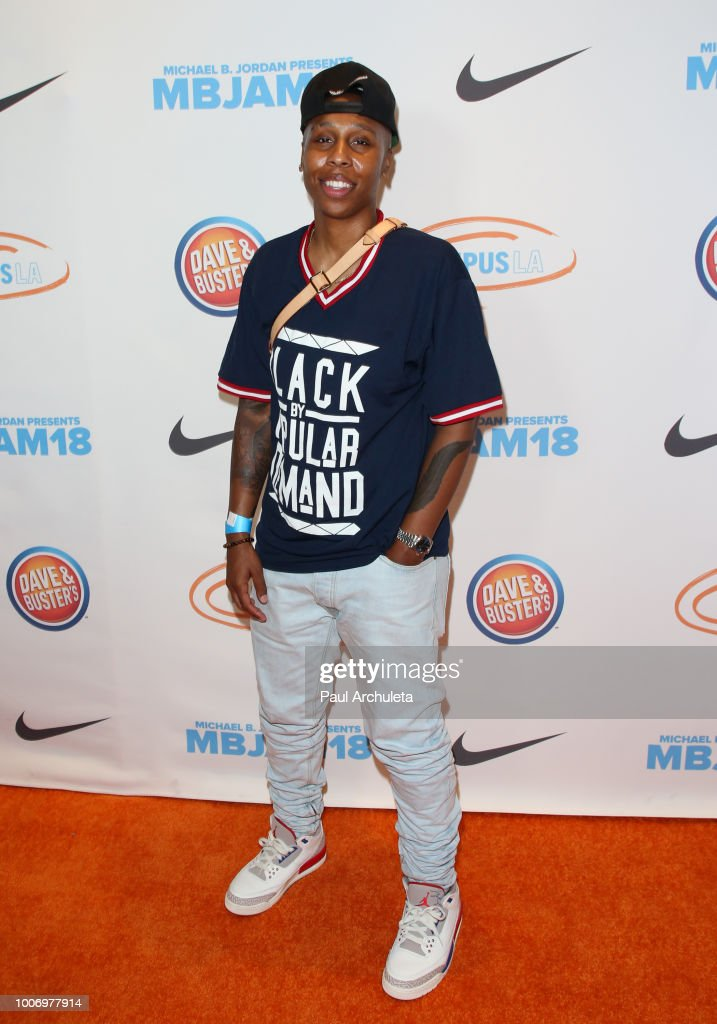 Actress Lena Waithe attends the 2nd annual MBJAM18 presented by Michael B. Jordan and Lupus LA at Dave & Buster's on July 28, 2018 in Los Angeles, California.