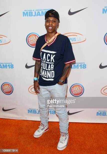 Actress Lena Waithe attends the 2nd annual MBJAM18 presented by Michael B Jordan and Lupus LA at Dave Buster's on July 28 2018 in Los Angeles...