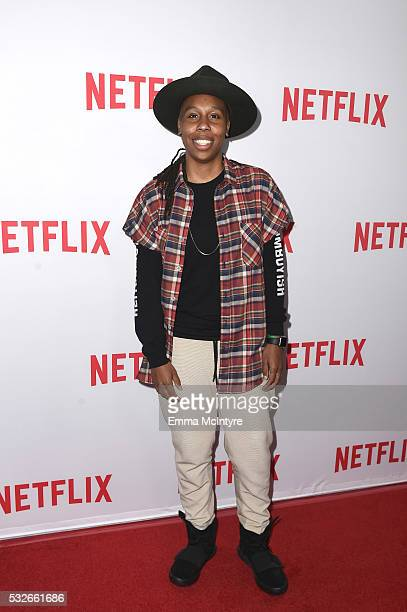 "Actress Lena Waithe attends the Emmy season screening of Netflix's ""Master of None"" at The Paley Center for Media on May 18, 2016 in Beverly Hills,..."