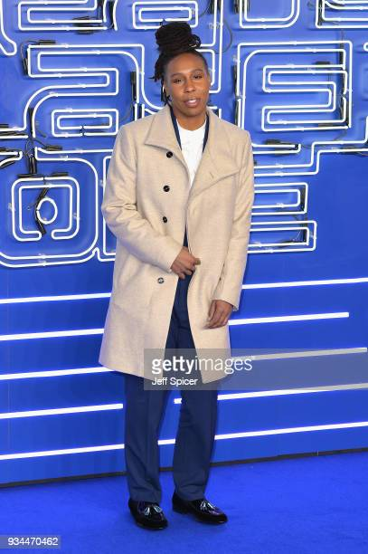 Actress Lena Waithe attends the European Premiere of 'Ready Player One' at Vue West End on March 19 2018 in London England