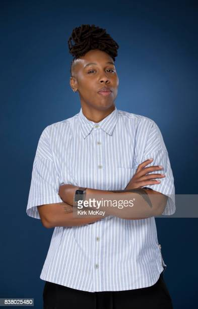 Actress Lena Waithe is photographed for Los Angeles Times on July 25 2017 in Los Angeles California PUBLISHED IMAGE CREDIT MUST READ Kirk McKoy/Los...