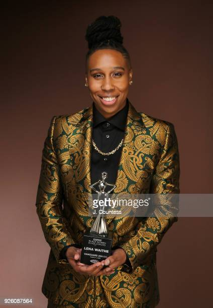 Actress Lena Waithe poses for a portrait at the Beverly Wilshire Four Seasons Hotel on March 1 2018 in Beverly Hills California