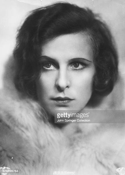 Actress Leni Riefenstahl