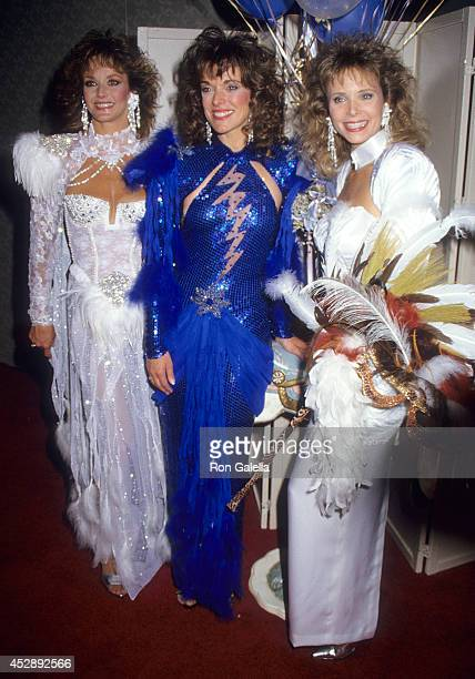 Actress Lenore Kasdorf actress Deborah Tranelli and actress Shelley Taylor Morgan attend A Carousel of Caring Fourth Annual Celebrity Fashion Show to...