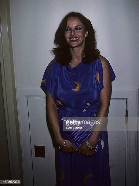 Actress Lenore Kasdorf attends the Seventh Annual Daytime Emmy Awards on June 4 1980 at NBC Studio 811 in New York City