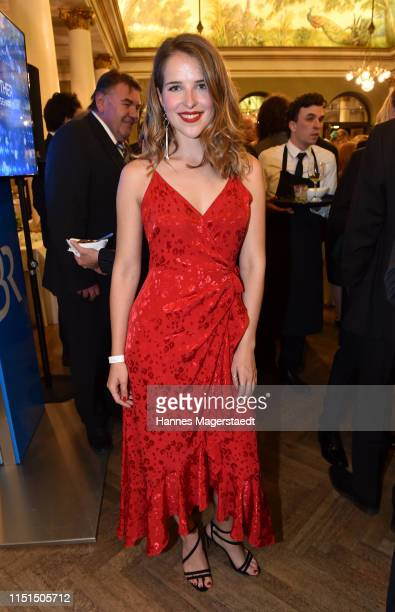 Actress Leonie Brill attends the Bayerische Fernsehpreis 2019 at Prinzregententheater on May 24 2019 in Munich Germany