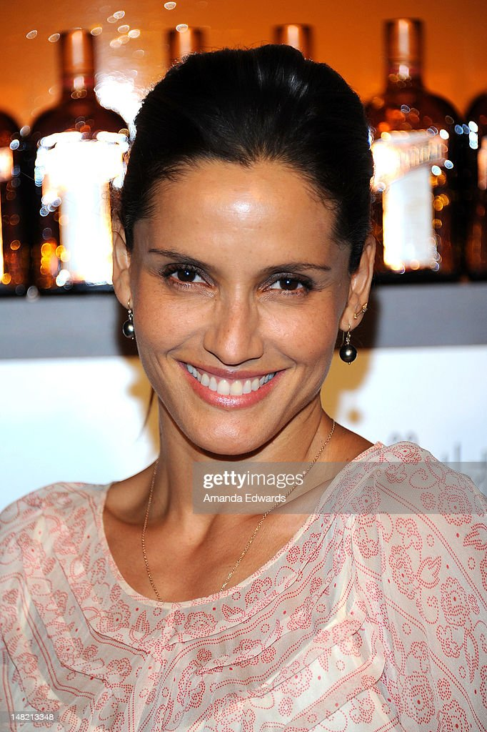 Actress Leonor Varela arrives at the Dita Von Teese and Cointreau Launch Cointreau Poolside Soirees event at the Beverly Hills Hotel on July 11, 2012 in Beverly Hills, California.
