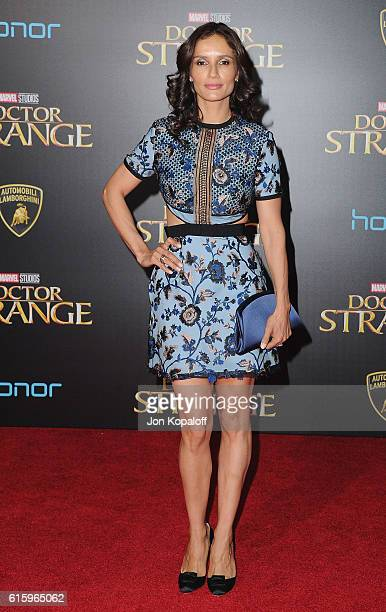 Actress Leonor Varela arrives at the Los Angeles Premiere Doctor Strange on October 20 2016 in Hollywood California