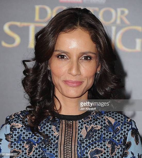 Actress Leonor Varela arrives at the Los Angeles Premiere 'Doctor Strange' on October 20 2016 in Hollywood California