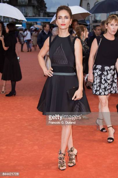 Actress Leonor Varela arrives at the screening for 'mother' during the 43rd Deauville American Film Festival on September 8 2017 in Deauville France