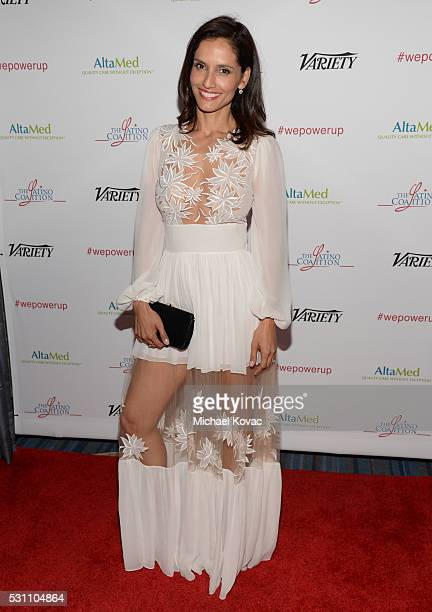 Actress Leonor Varela attends the AltaMed Power Up We Are The Future Gala at the Beverly Wilshire Four Seasons Hotel on May 12 2016 in Beverly Hills...