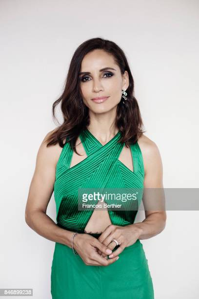Actress Leonor Varela is photographed on September 9 2017 in Deauville France