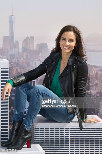 Actress Leonor Varela poses during the 'Revelation Jury' photocall as part of the 43rd Deauville American Film Festival on September 2 2017 in...