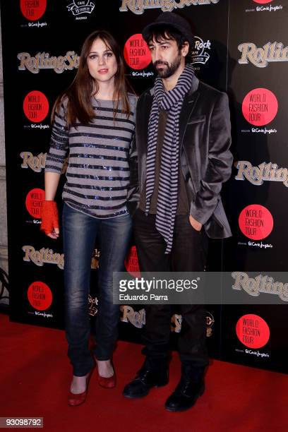 Actress Leonor Watling and friend attends the 2009 Rolling Stone Awards at Hard Rock Cafe on November 16, 2009 in Madrid, Spain.