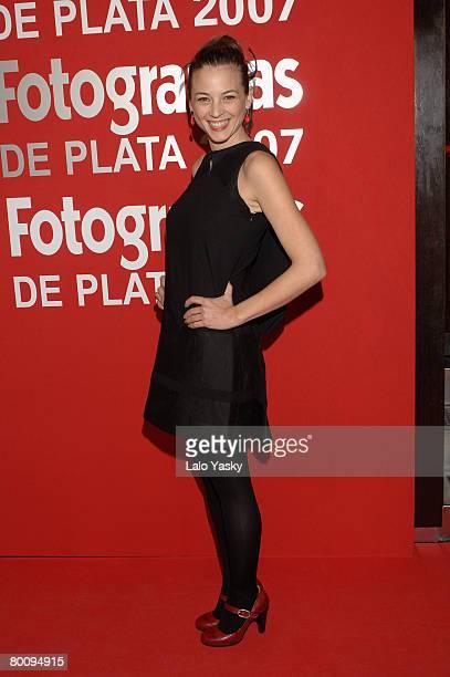 Actress Leonor Watling attends Fotogramas Magazine Awards ceremony held at Joy Eslava club on March 3 2008 in Madrid Spain