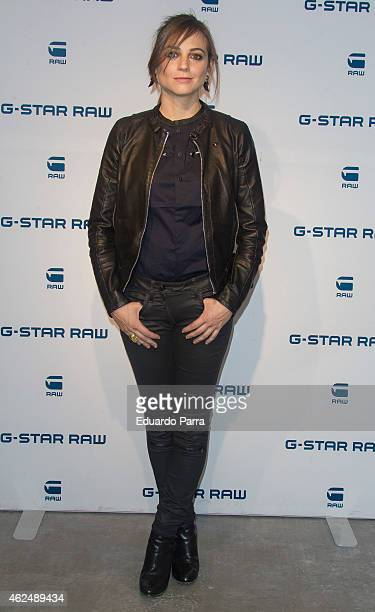 Actress Leonor Watling attends 'GStar' new flagship store opening party on January 29 2015 in Madrid Spain