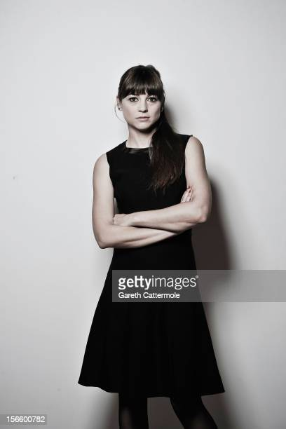 Actress Leonor Watling during a portrait session at the 7th Rome Film Festival on November 17 2012 in Rome Italy