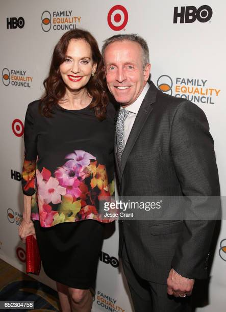 Actress Lesley Ann Warren and Family Equality Council CEO Reverend Stan Sloan attend the Family Equality Council's Impact Awards at the Beverly...
