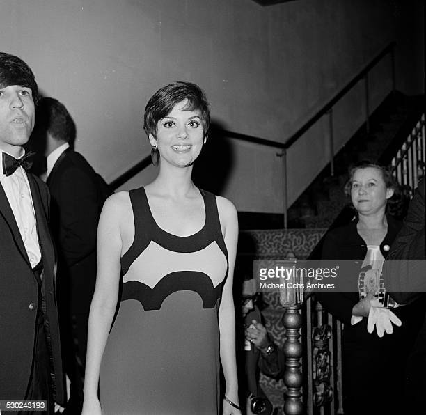 Actress Lesley Ann Warren and Jon Peters attend an event with actor Paul Petersen in Los AngelesCA