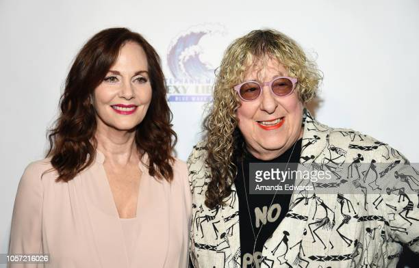Actress Lesley Ann Warren and songwriter Allee Willis attend the Los Angeles leg of Stephanie Miller's Sexy Liberal Blue Wave Tour at The Saban...