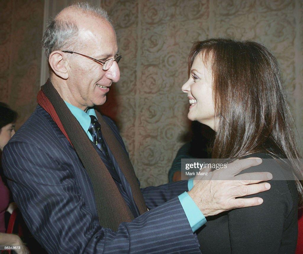 Actress Lesley Ann Warren and writer Martin Sherman attend