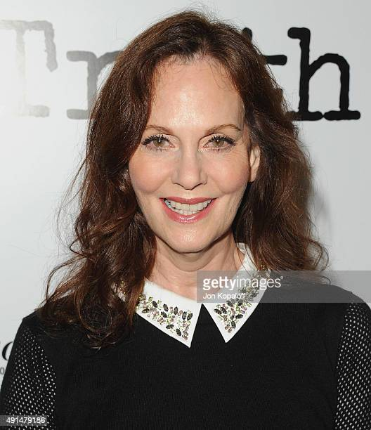 Actress Lesley Ann Warren arrives at the Industry Screening Of Sony Pictures Classics' Truth at Samuel Goldwyn Theater on October 5 2015 in Beverly...
