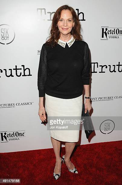 """Actress Lesley Ann Warren arrives at the Industry Screening Of Sony Pictures Classics' """"Truth"""" at Samuel Goldwyn Theater on October 5, 2015 in..."""