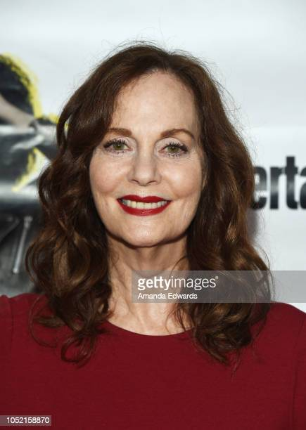 Actress Lesley Ann Warren arrives at the opening night of 'Sell/Buy/Date' at the Los Angeles LGBT Center on October 14 2018 in Los Angeles California