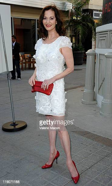 Actress Lesley Ann Warren arrives at the Premiere Of Freestyle Releasing's A Little Help at Sony Pictures Studios on July 14 2011 in Culver City...