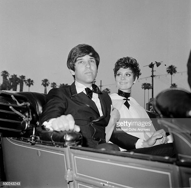 Actress Lesley Ann Warren with husband producer Jon Peters attend an event in Los AngelesCA