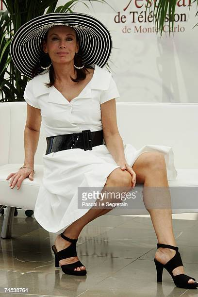 Actress Lesley Anne Down attends a photocall promoting the television serie 'The Bold And The Beautiful' on the first day of the 2007 Monte Carlo...