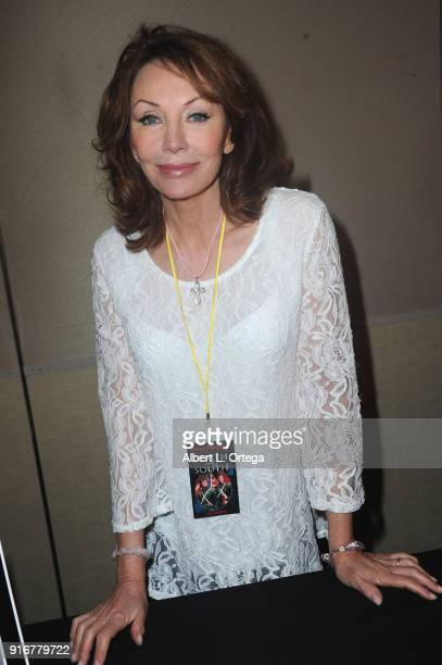 Actress Lesley Anne-Down attends The Hollywood Show held at Westin LAX Hotel on February 10, 2018 in Los Angeles, California.