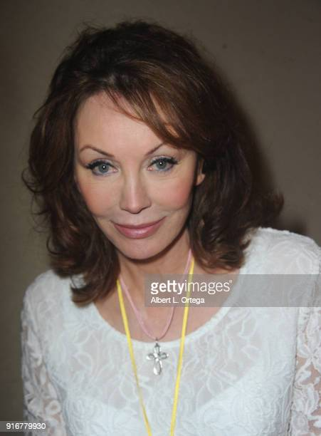 Actress Lesley AnneDown attends The Hollywood Show held at Westin LAX Hotel on February 10 2018 in Los Angeles California