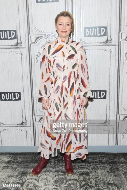 Actress Lesley Manville attends Build Series to discuss Phantom Thread at Build Studio on December 13 2017 in New York City