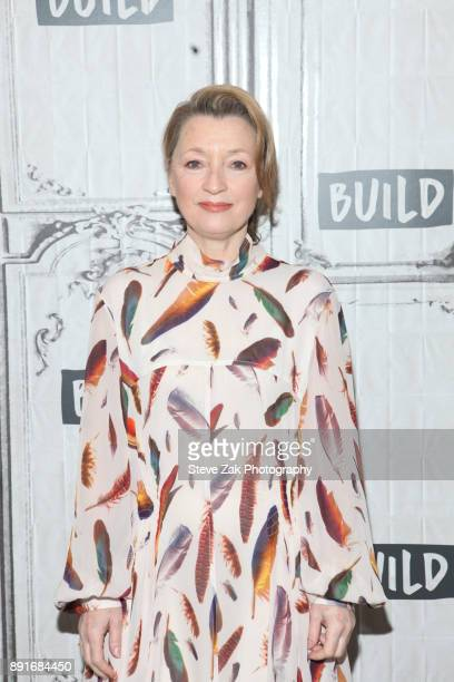 Actress Lesley Manville attends Build Series to discuss 'Phantom Thread' at Build Studio on December 13 2017 in New York City