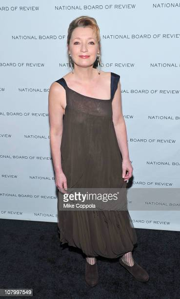 Actress Lesley Manville attends the 2011 National Board of Review of Motion Pictures Gala at Cipriani 42nd Street on January 11 2011 in New York City