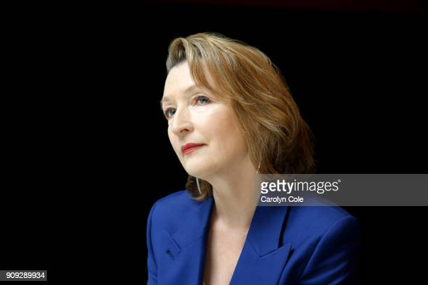 Actress Lesley Manville is photographed for Los Angeles Times on December 12 2017 in New York City PUBLISHED IMAGE CREDIT MUST READ Carolyn Cole/Los...